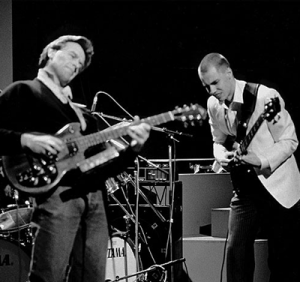 John McLaughlin and Jonas Hellborg