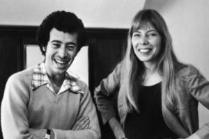 David Geffen and Joni, early '80s