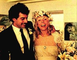 Larry Klein and Joni, 21st November 1982