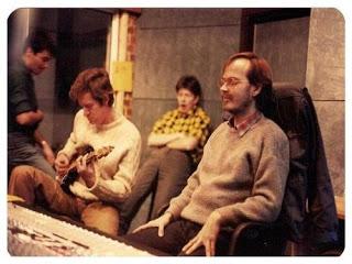 China Crisis and Walter Becker, Parkgate Studios, 1985