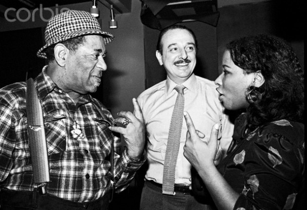 Dizzy Gillespie, Arif Mardin and Chaka Khan