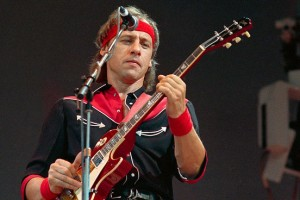 Mark Knopfler at Live Aid, 13th July 1985