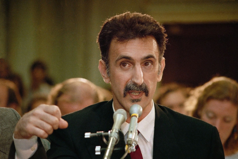 Frank Zappa v Corporate America: The PMRC 30 Years On | movingtheriver.com