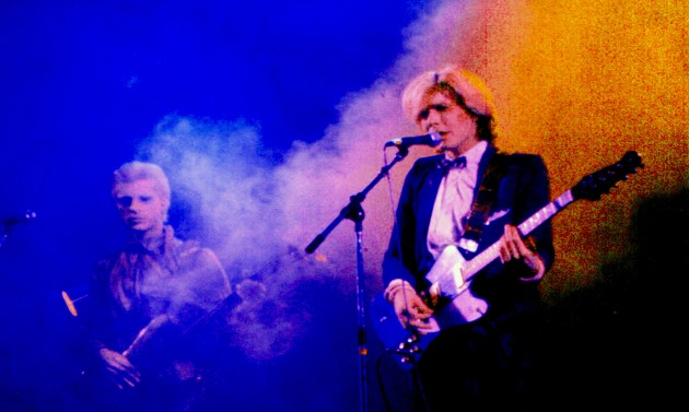 Mick Karn and David Sylvian, Toronto, 24th November 1979
