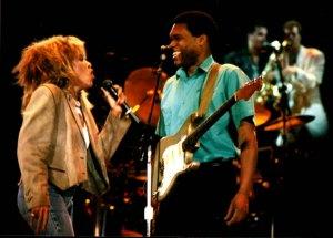 Tina Turner with Robert, 1986