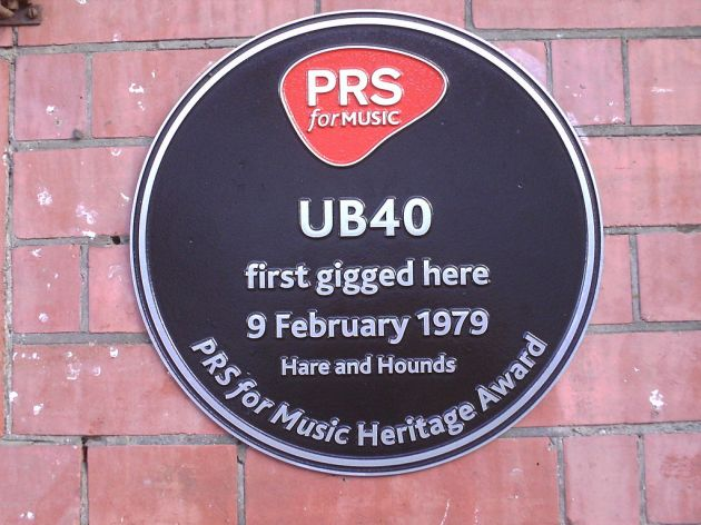 Scene of the band's first Birmingham gig